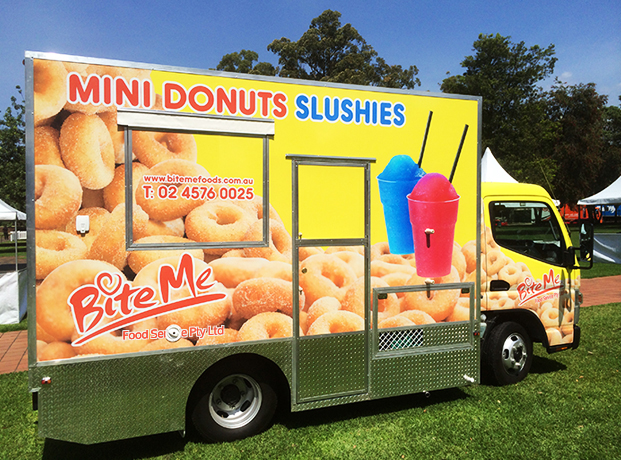 food truck bite me donuts