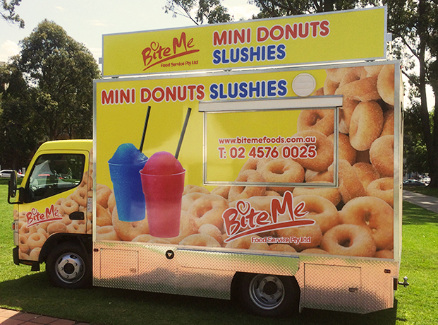 bite me food truck in Sydney
