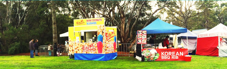 mobile doughnut van Bite Me Sydney