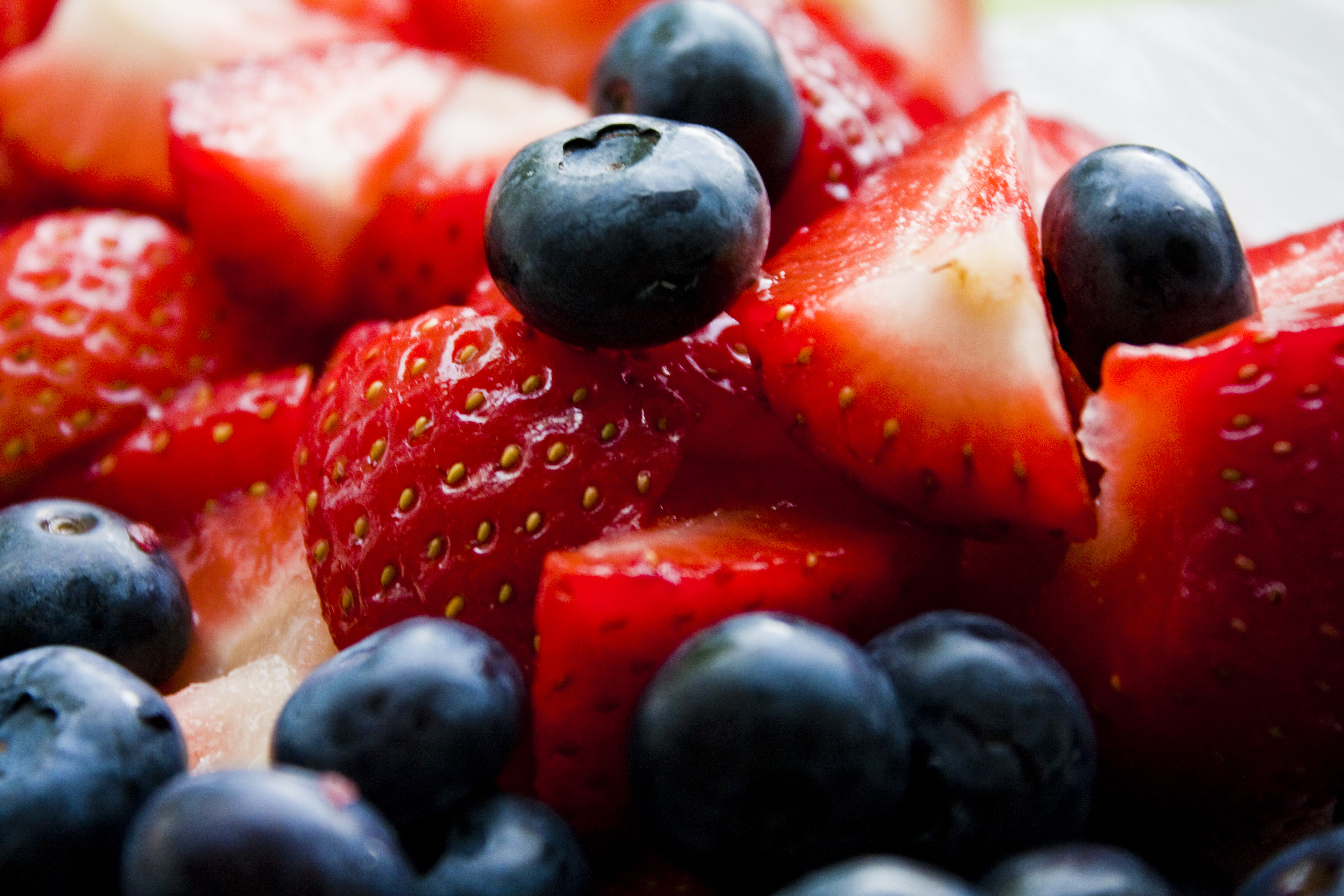 A Picture of Fruits that could be a food allergy