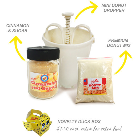 Bite Me Foods Mini Donut Kit